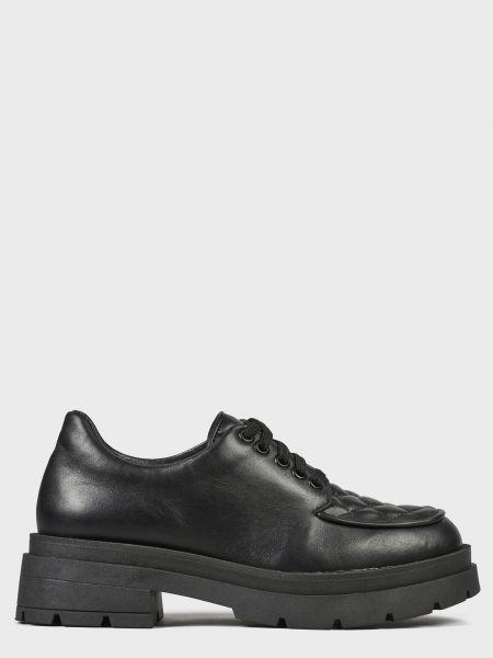 Кожаные туфли - черные L'estrosa