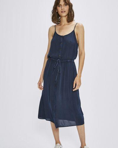 Платье миди в стиле бохо из вискозы Answear