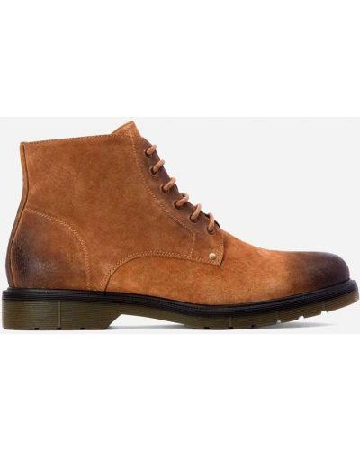 Ботинки - коричневые Kazar