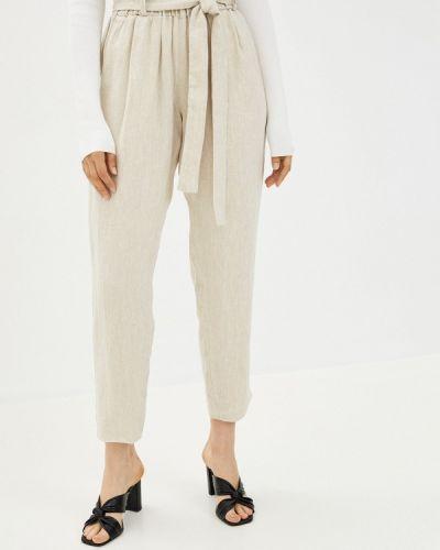 Бежевые зауженные брюки Gabriela