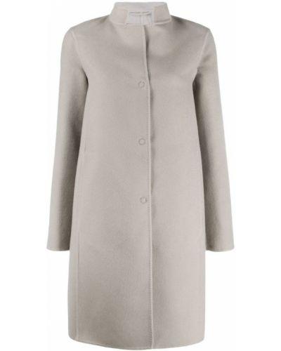 Однобортное пальто с капюшоном Manzoni 24