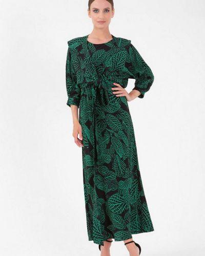 Черное зимнее платье Lo
