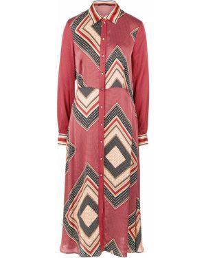 Платье в горошек платье-рубашка Pennyblack