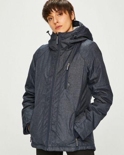 Прямая синяя куртка Sublevel
