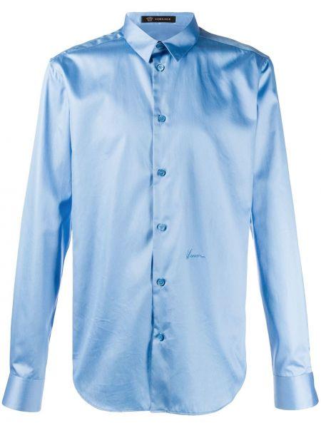 Koszula z długim rękawem klasyczna za pełne Versace