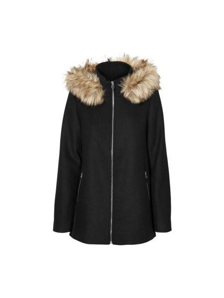 Czarna kurtka z kapturem Vero Moda