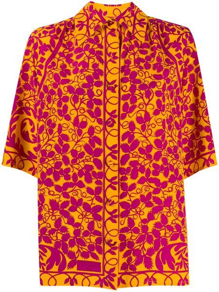 Рубашка с коротким рукавом на пуговицах с лебяжьим пухом Christian Lacroix Pre-owned