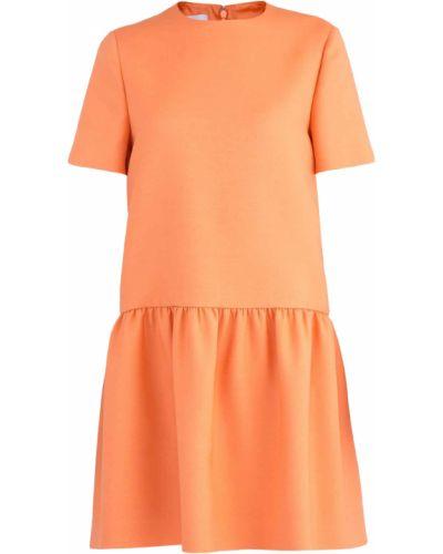 Платье мини платье-солнце прямое Valentino