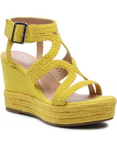 Żółte sandały casual Bullboxer