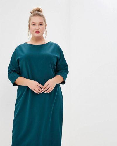 Платье - зеленое Jp