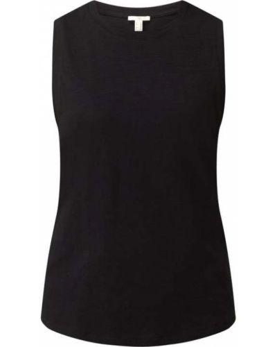 Czarny top bawełniany Edc By Esprit