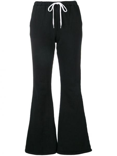 Хлопковые спортивные брюки - черные Facetasm