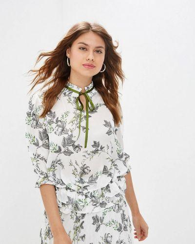 Блузка с длинным рукавом белая турецкий Lusio