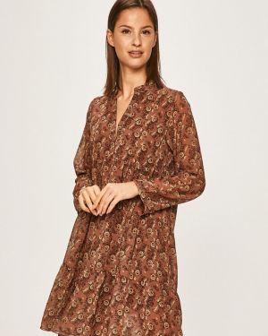 Sukienka mini w kwiaty codzienna Answear