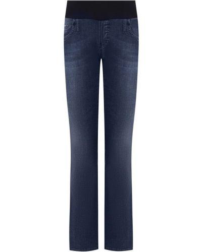 Укороченные джинсы синие Pietro Brunelli