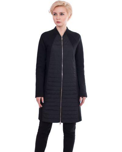 Пальто с воротником-стойкой прямое с воротником J-splash