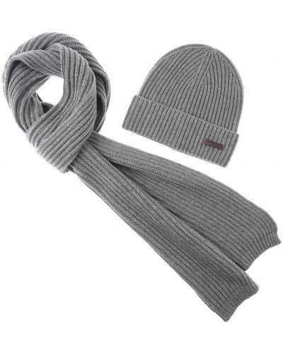 Szare rękawiczki bawełniane Dsquared