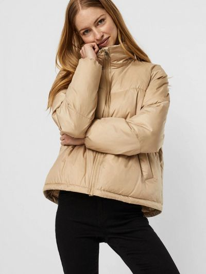 Утепленная куртка - бежевая Vero Moda