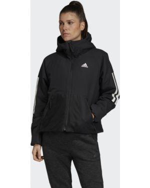 Утепленная куртка - черная Adidas