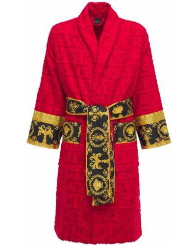 Szlafrok z paskiem Versace