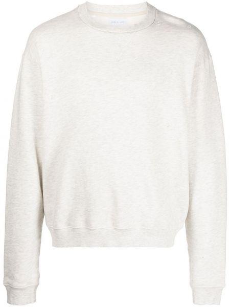 Bluza dresowa - biała John Elliott