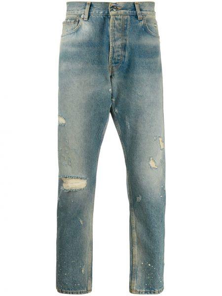 Niebieskie jeansy skorzane perły Htc Los Angeles