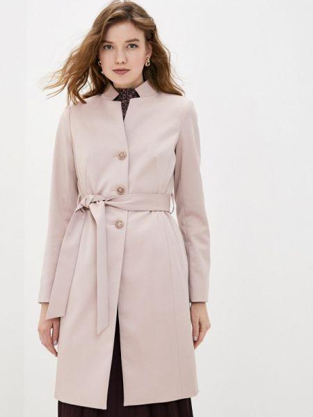 Розовое пальто с капюшоном Avalon