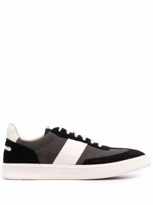 Czarne buty sportowe skorzane Spalwart