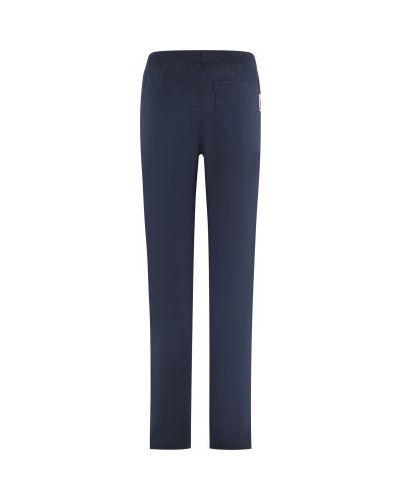 Хлопковые зауженные синие походные брюки Outventure