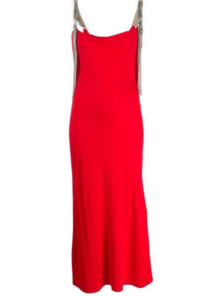 Sukienka mini z paskiem z łańcuchem Christopher Kane