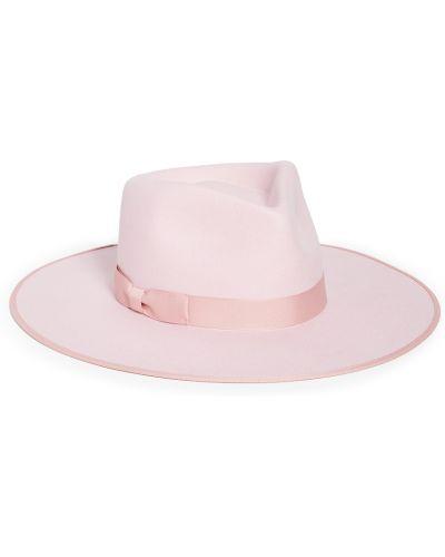 Różowy kapelusz wełniany Lack Of Color