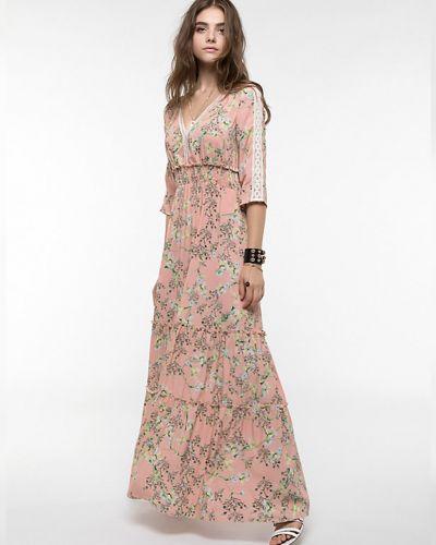 Розовое платье Patrizia Pepe
