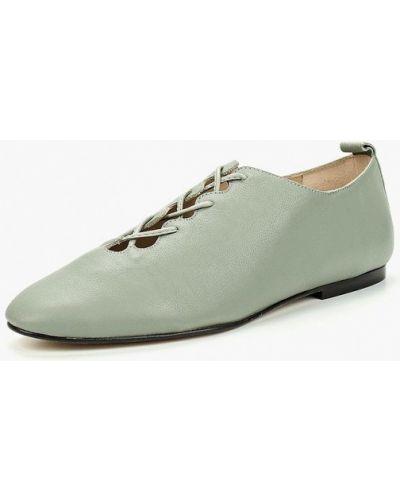 Кожаные ботинки осенние низкие Mango