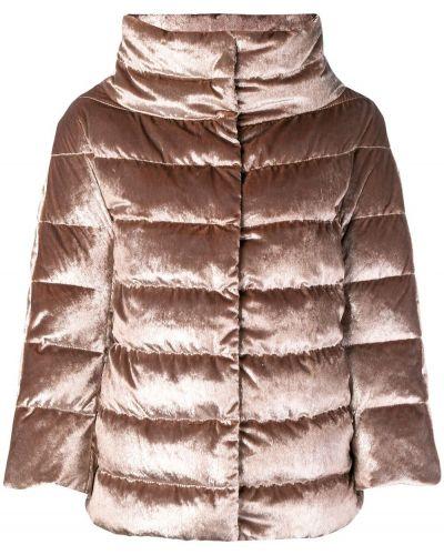 Куртка бархатная укороченная Herno