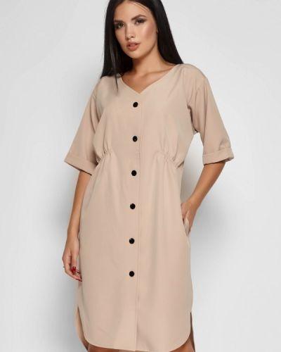 Платье платье-рубашка осеннее Karree