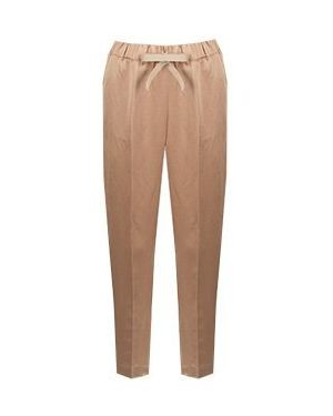 Укороченные брюки бежевый Semicouture