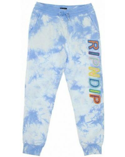 Niebieskie spodnie Ripndip