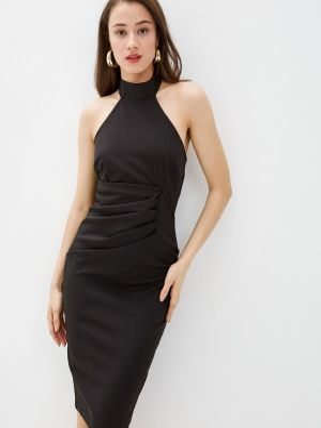 Черное вечернее платье City Goddess