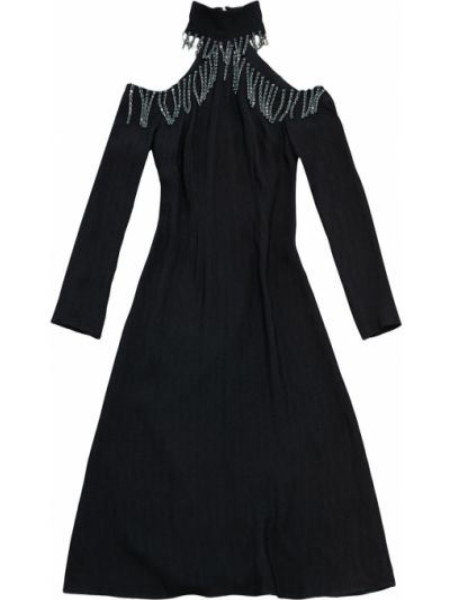 Lniana sukienka - niebieska Christopher Kane
