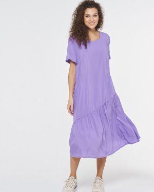 Повседневное с рукавами летнее платье Vay