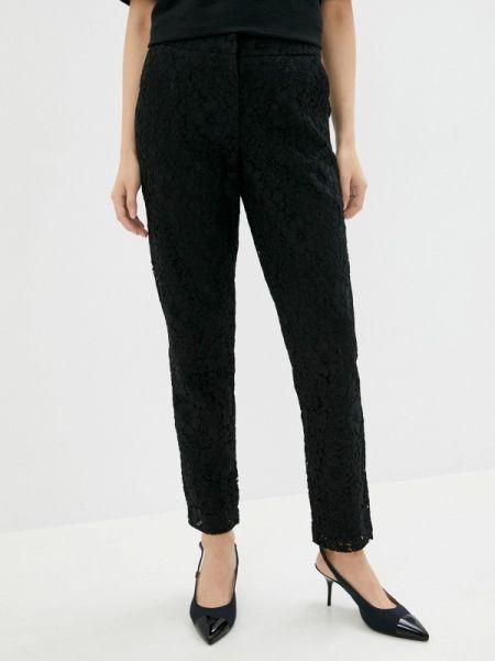 Черные брюки Stefanel