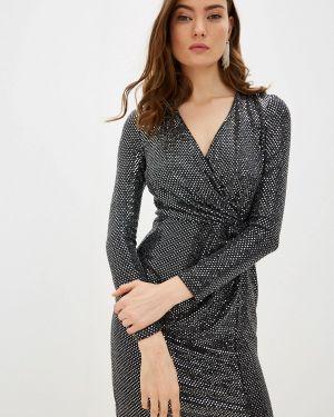 Вечернее платье осеннее серебряный Rinascimento
