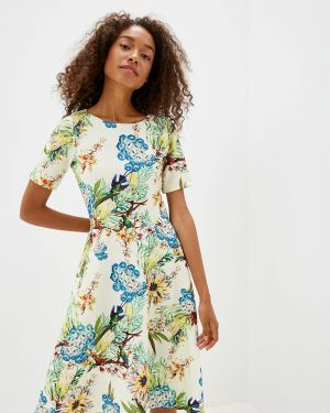Платье - бежевое Glam Goddess