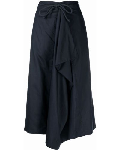Spódnica kopertowa - niebieska Lemaire