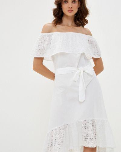 Прямое белое платье Top Secret