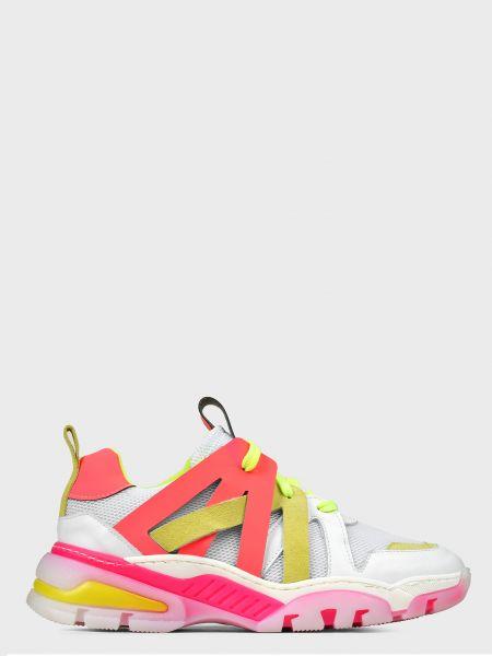 Кожаные кроссовки L'estrosa