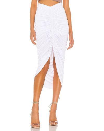 Biała spódnica z falbanami Bailey 44
