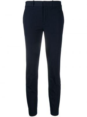 Хлопковые синие брюки с карманами Polo Ralph Lauren