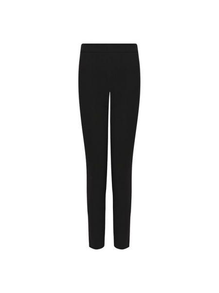 Облегающие шерстяные черные брюки Brandon Maxwell