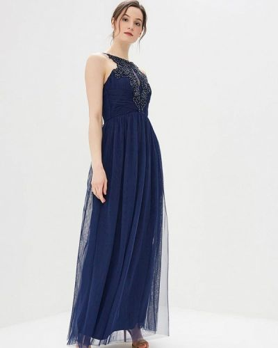 Синее вечернее платье Little Mistress